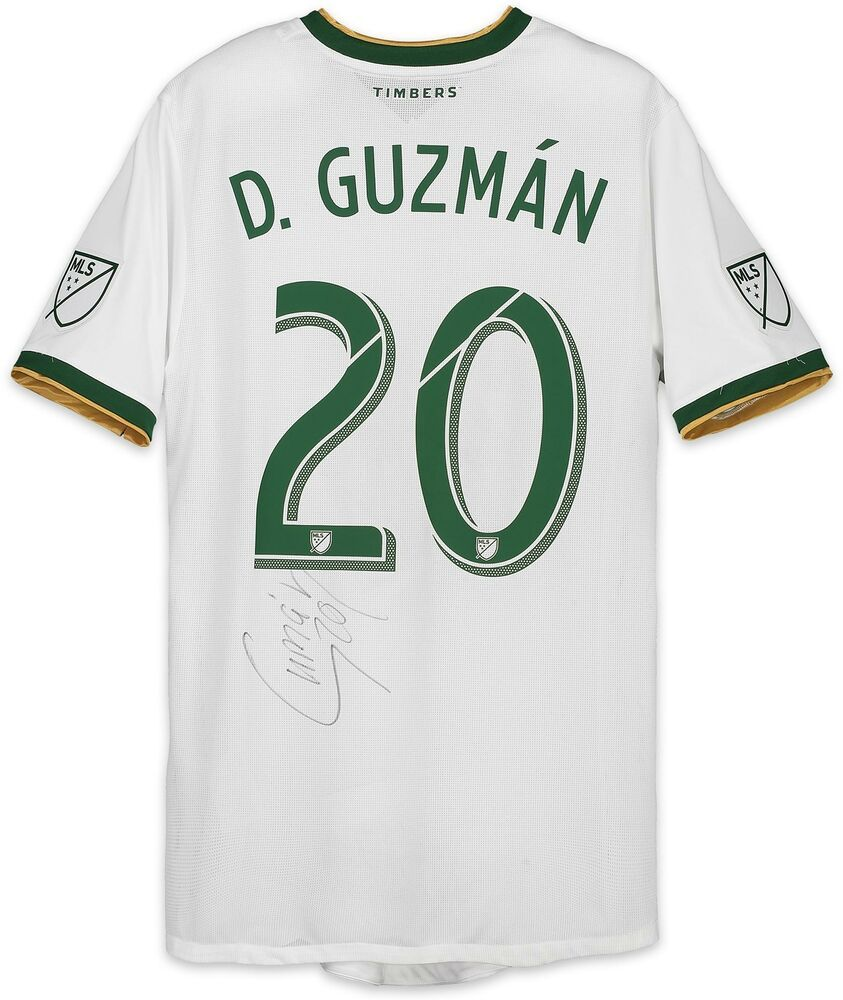 2c3c65ae7 David Guzman Portland Timbers Signed MU White  20 Jersey - 2018 Season   sportsmemorabilia  autograph  jersey