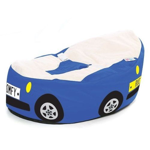 Incredible Gaga Luxury Cuddlesoft Baby Bean Bag Racing Car Blue Pabps2019 Chair Design Images Pabps2019Com