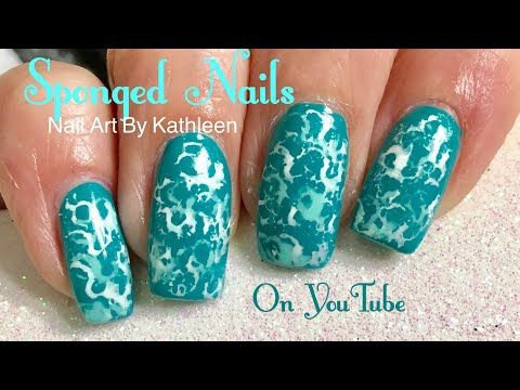 Sponge nail art using a kitchen sponge easy nail art tutorial sponge nail art using a kitchen sponge easy nail art tutorial youtube prinsesfo Image collections