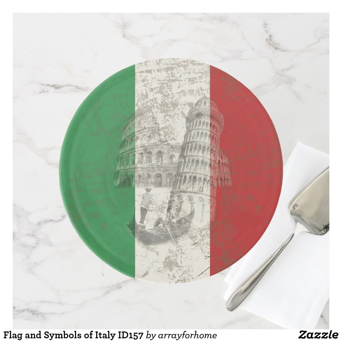 Flag And Symbols Of Italy Id157 Cake Stand Symbols Italy And Flags