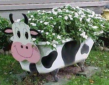Vieilles Baignoires Recyclees Pour Le Jardin Art Du Jardin Recycle Vieille Baignoire Jardin Recycle