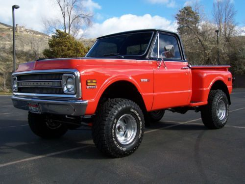 Sell New 1969 Chevrolet C 10 K 10 4x4 Stepside Shortbox In Boise