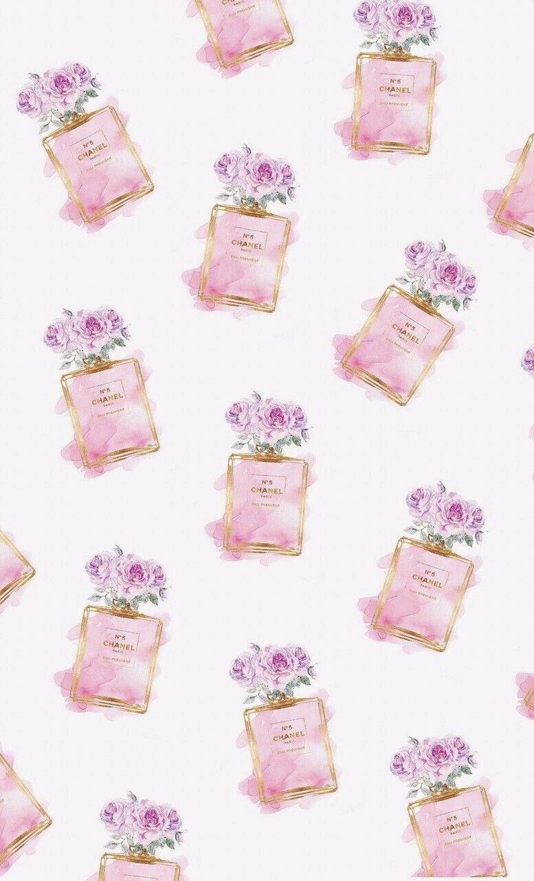 Chanel の画像 投稿者 Nathalie さん ピンク 壁紙 Iphone 壁紙