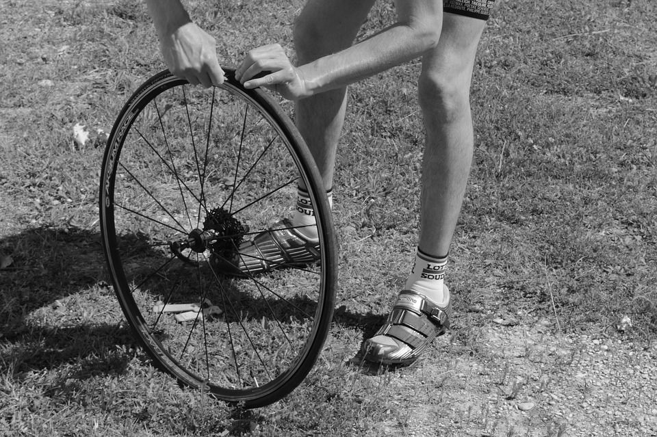 How to fix a flat bicycle tire bicycle tires bicycle