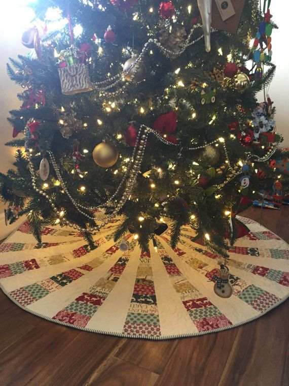 modern christmas tree skirt in large and extra large in - Extra Large Christmas Tree Skirt