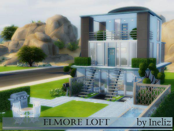 The Sims Resource: Denna Modern Design by AUtaki • Sims 4 ...