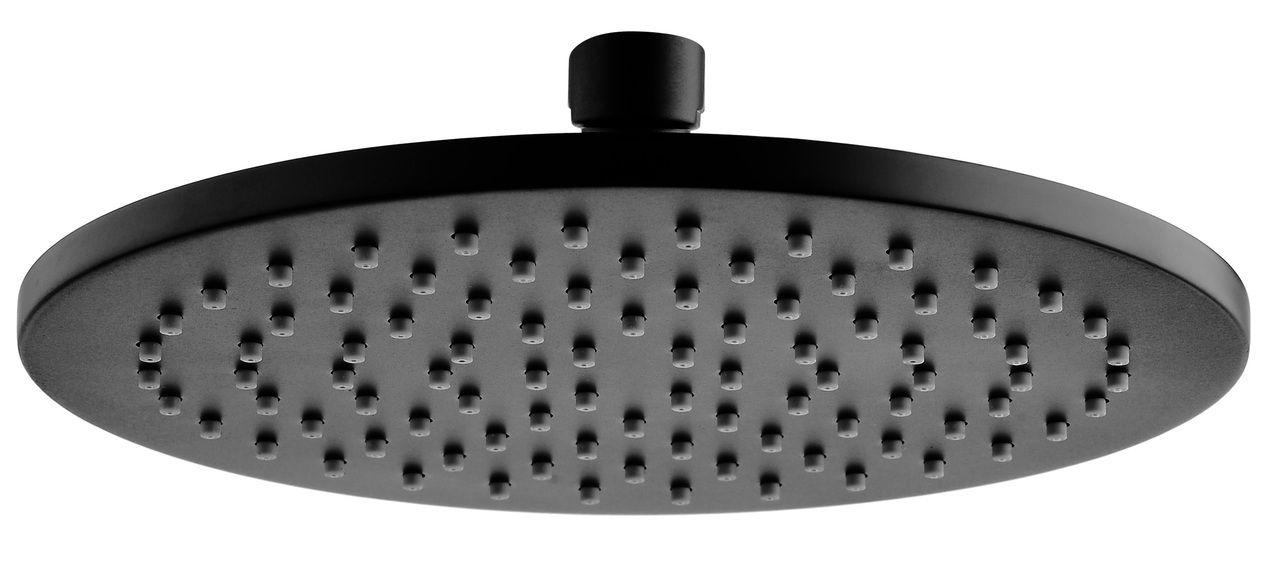 Starry Matte Black 200x200 Shower Head
