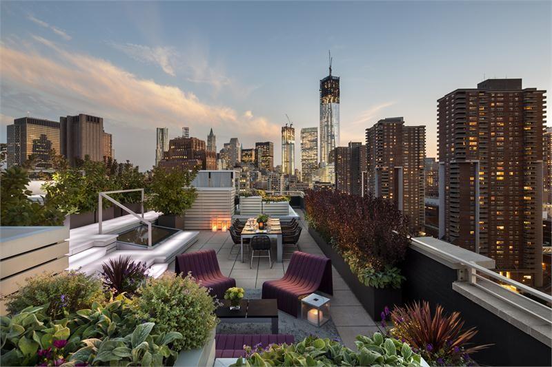Open Contemporary Outdoors By Elaine Santos | Terrace Design, Roof Garden Design, Rooftop Patio
