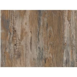 D C Fix Rustic 17 In X 78 In Home Decor Self Adhesive Film 2 Pack Brown Kitchen In 2019 Sticky Back Plastic Wood Vinyl Rustic Wood Walls