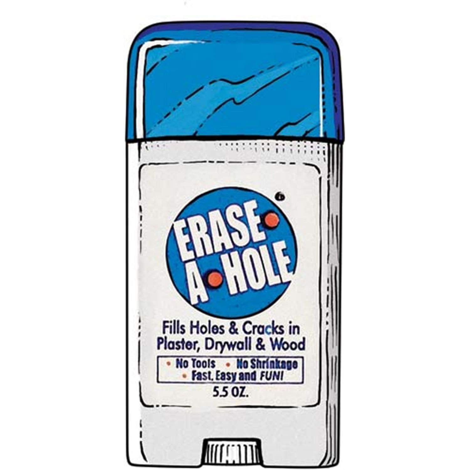 Erase-A-Hole repair putty from Duluth Trading Company is the instant ...