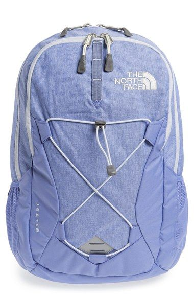 Free shipping and returns on The North Face 'Jester' Backpack at Nordstrom.com. A roomy backpack holds everything you need for your morning commute or weekend adventure, featuring two large zip compartments, a padded laptop sleeve, an internal organization sleeve and an external bungee cord system. Molded straps are designed to fit a woman's proportions, providing all-day carrying comfort.
