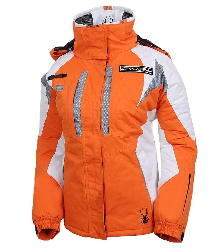 0ed9db6807 Spyder Women Ski Jackets Insulated Orange