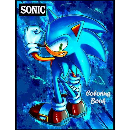 Sonic Coloring Book Sonic The Hedgehog Jumbo Coloring Book Toddlers And Kids Ages 2 8 Paperback Walmart Com Sonic The Hedgehog Sonic Hedgehog