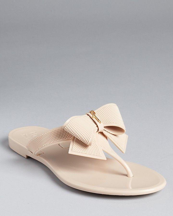 0f17da263c0f Salvatore Ferragamo Sandals - Bali Jelly Flip Flop