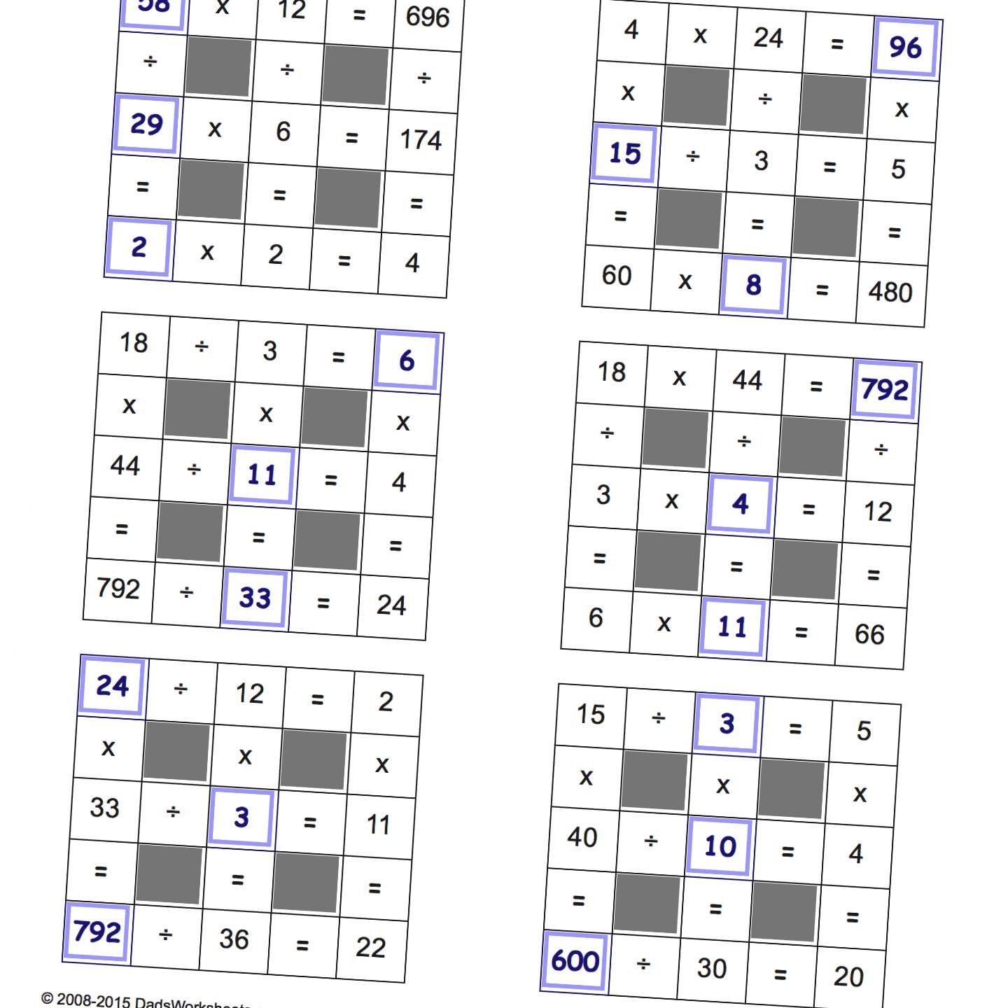 If Some Of The Other Grid Puzzle Worksheets Were Too Easy