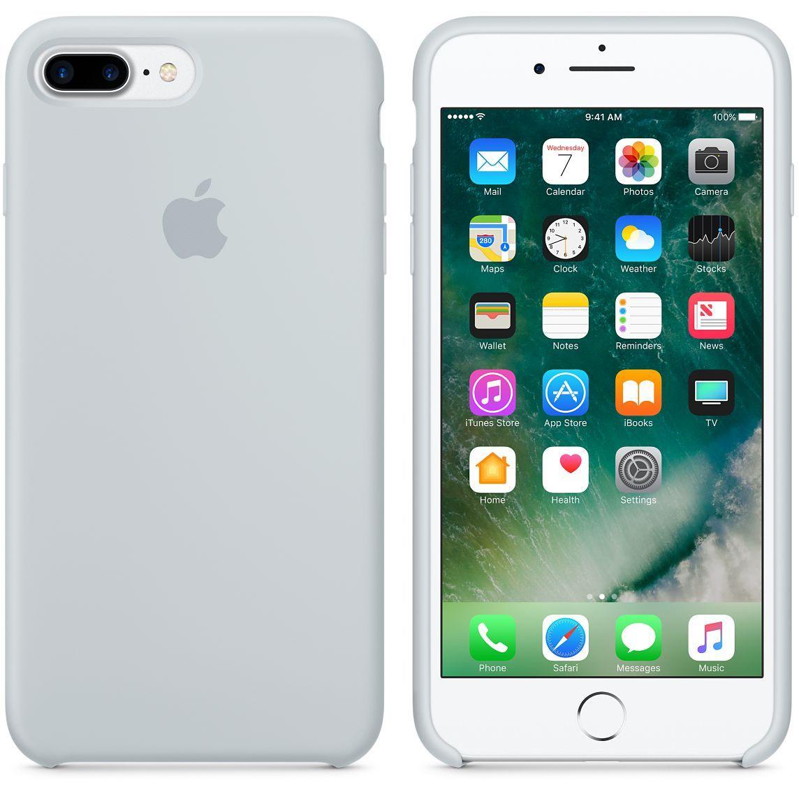 ee6dc31a72b Funda Silicone Case para el iPhone 7 Plus - Rosa arena - Apple (ES ...