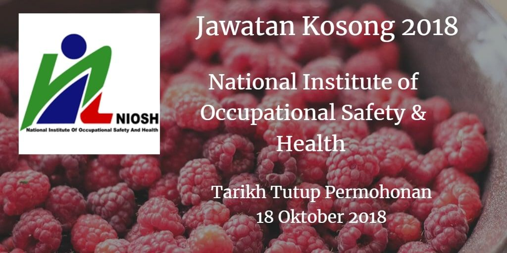National Institute of Occupational Safety & Health Jawatan