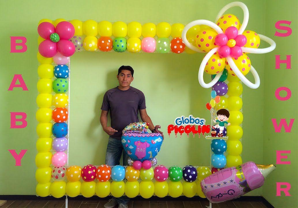 Marco para fotos con globos para baby shower # 32 | decor ...