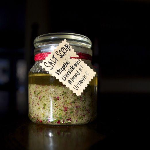 Revitalizing Salt Scrub DIY