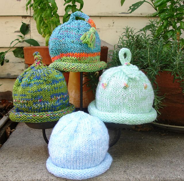 Ravelry: Basic Baby Hat pattern by Holly D. Hufstetler | Knitting ...