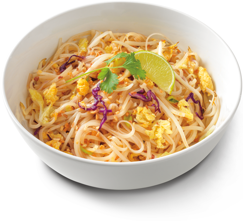 Noodle Bowl With Chopsticks