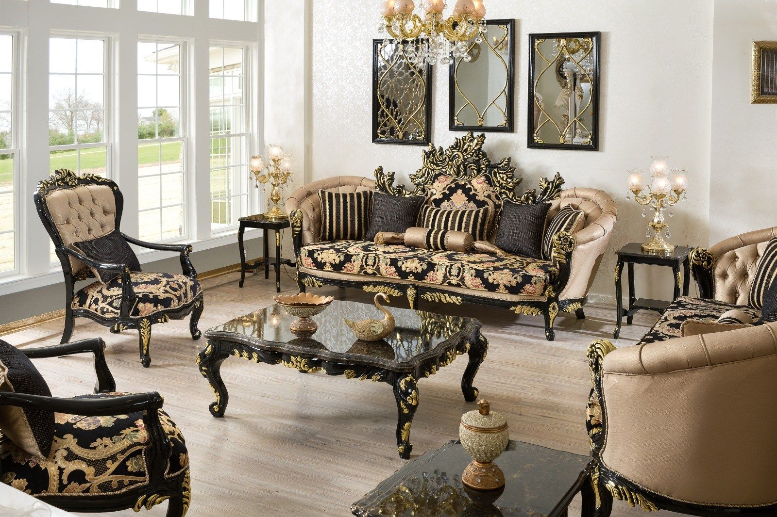 13 Smart Ways How To Craft Versace Living Room Set Living Room