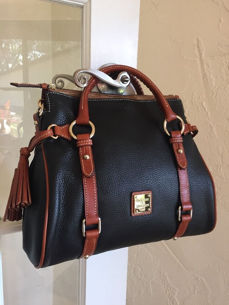 a498750c8d73 Dooney   Bourke Pebble Grain Small Satchel Black R980B