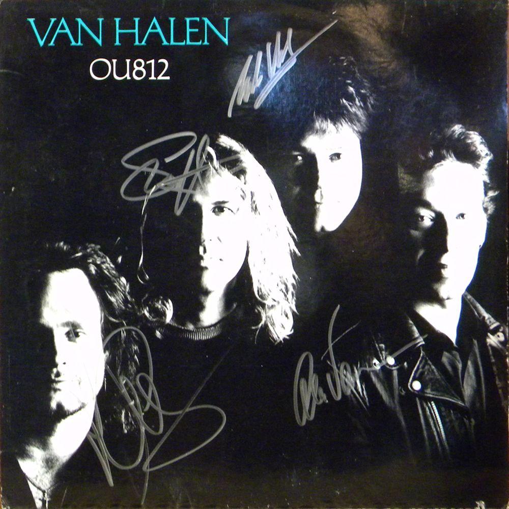 22428 Van Halen Ou812 Album Jpg 1000 1000 Eddie Van Halen Halen