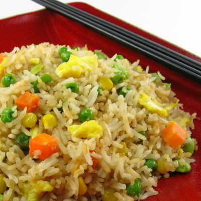 Fried rice with peas and carrots recipe yangzhou fried rice and fried rice with peas and carrots ccuart Image collections