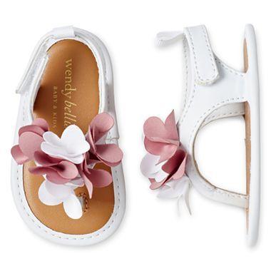 845d43534090 Wendy Bellissimo Girl Laeny Flower Sandal-Size 1-3 - JCPenney