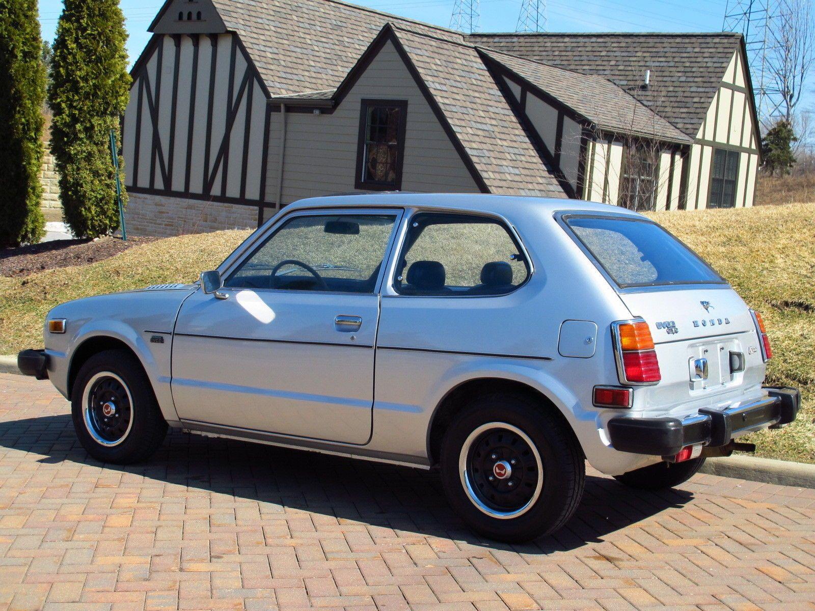 1978 Honda Civic CVCC 3-door hatchback with 72,169 miles.