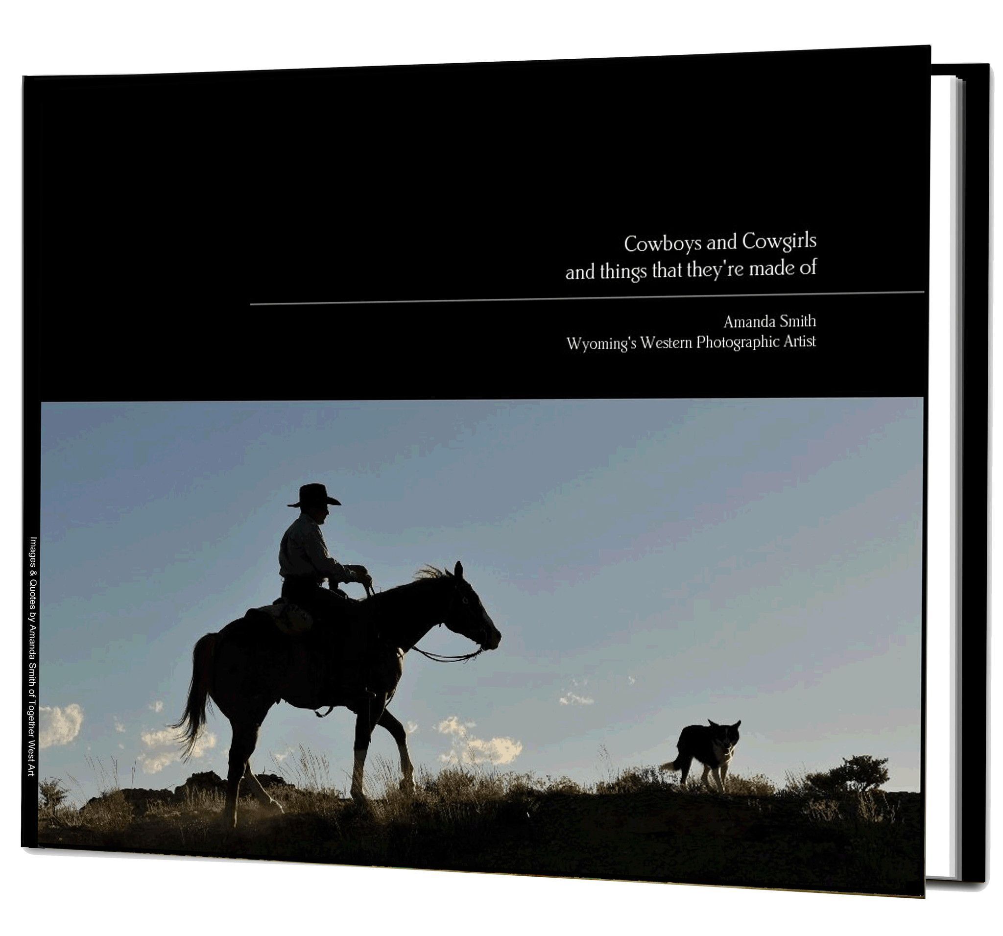 Cowboys and Cowgirls Coffee Table Book available in Soft or Hard