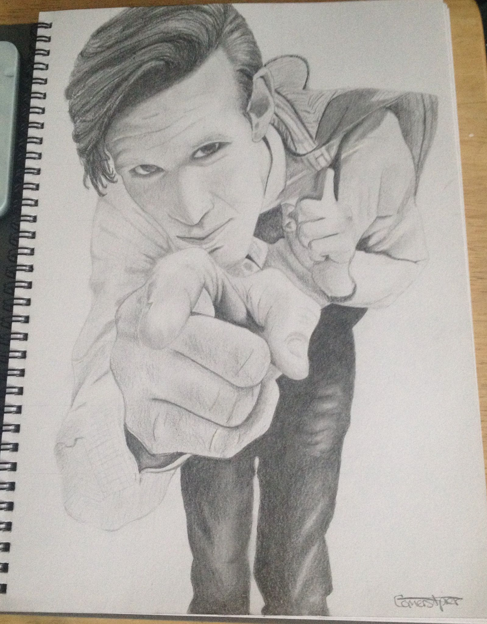 Matt smith doctor who drawing | Doctor who | Pinterest