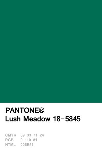 Pantone 2016 Lush Meadow Combinacoes De Cores Paleta De Cores Tons De Cor