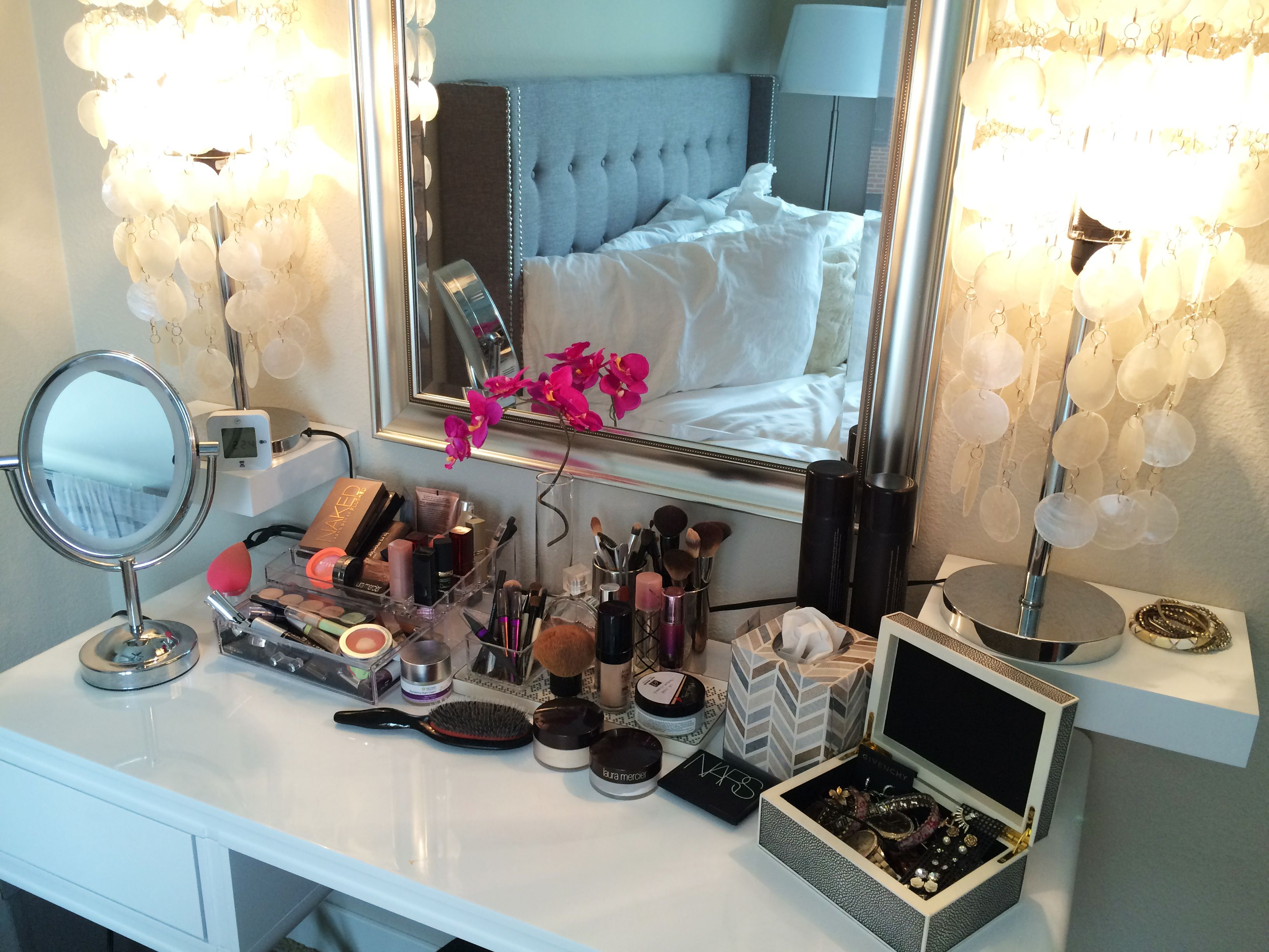 Bedroom vanity. Every girl needs a space to get ready, right?