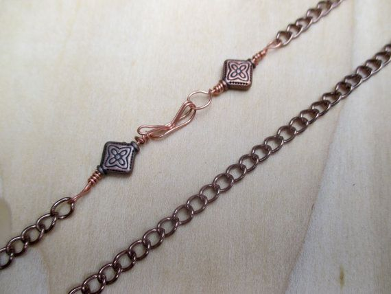 Mens Heavy Copper Chain 20 inch Chain 22 Inch Chain 24 by Banba