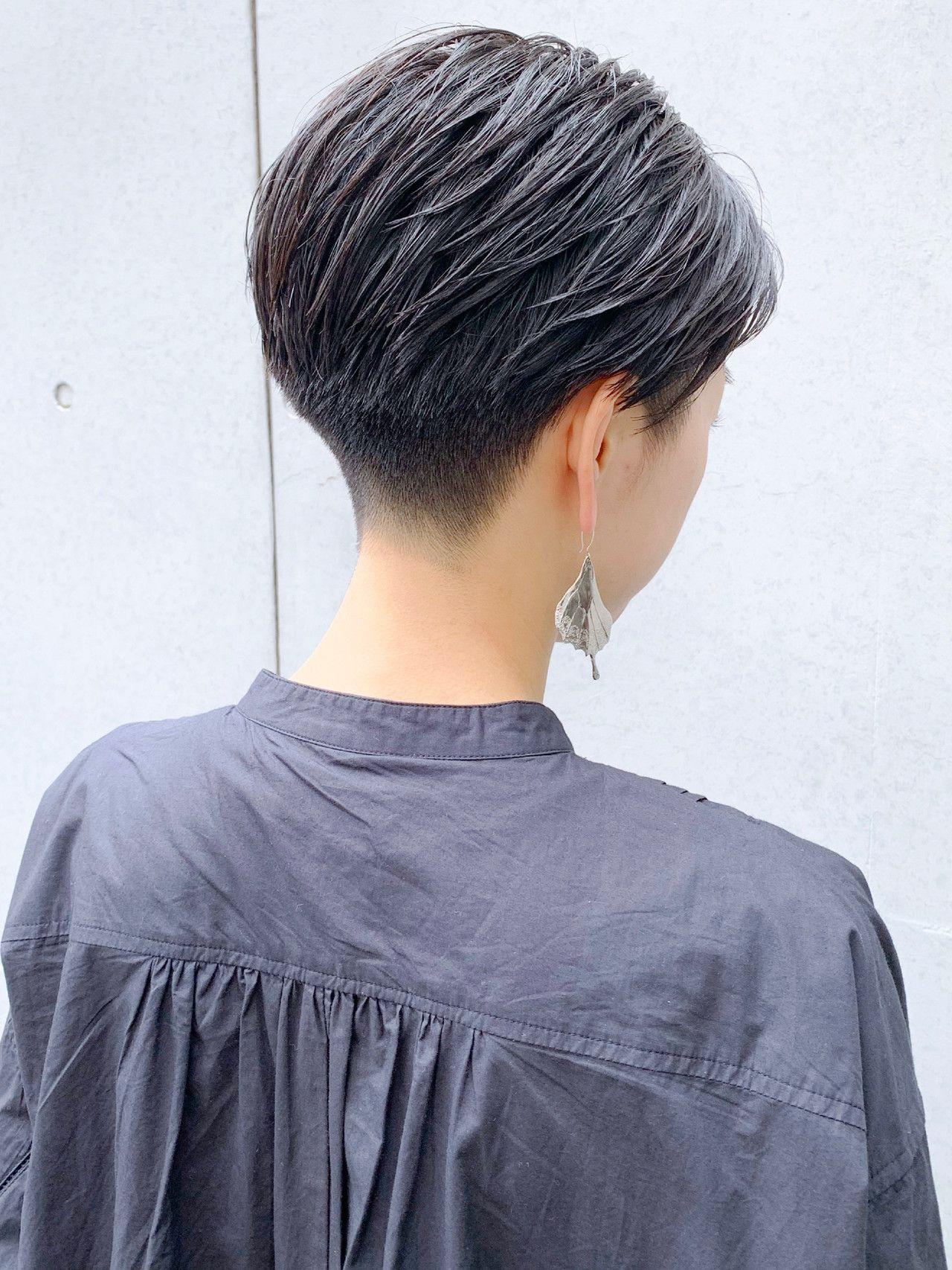 ショート 刈り上げ女子 刈り上げショート 刈り上げ Morio From London Narimasu3 米村ススム 505340 Hair 美髪 ヘアスタイル ショートのヘアスタイル