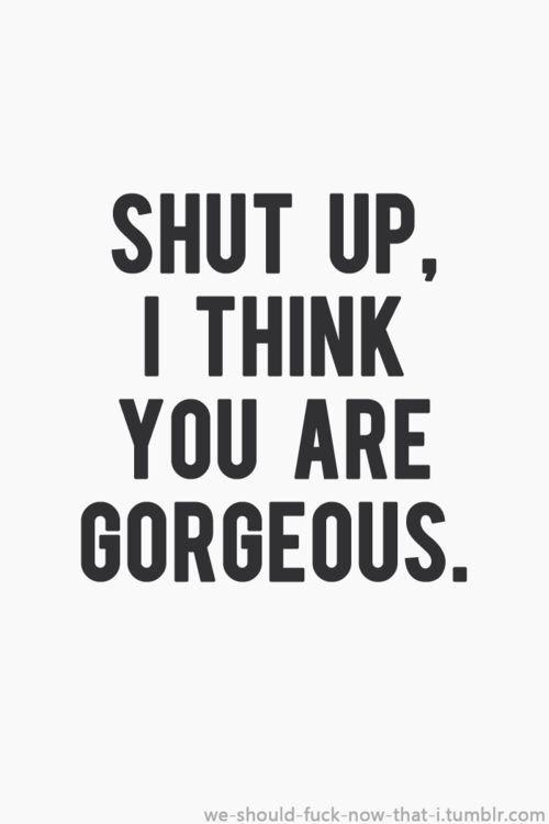 Justin says me that.