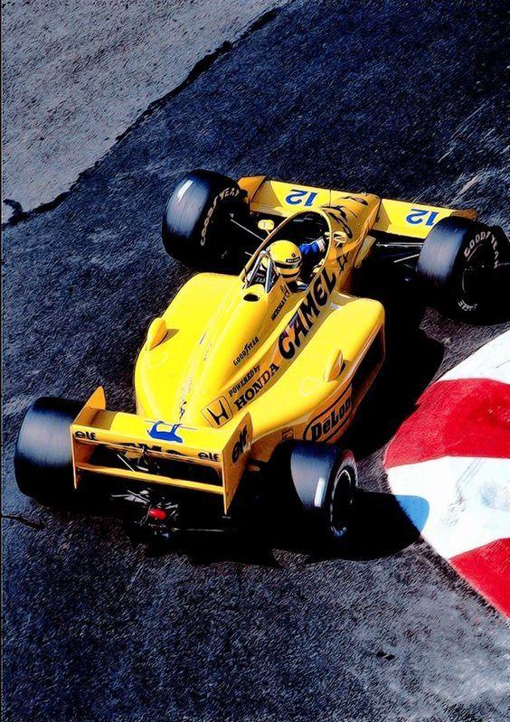 Ayrton Senna, Lotus 99T - Monaco, 1987
