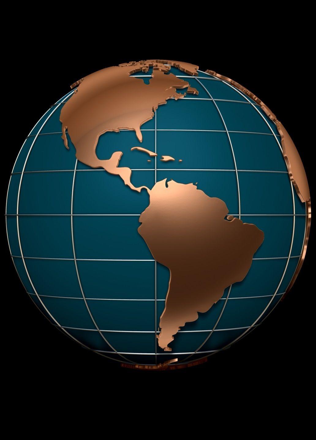 Globe Map 3d : globe, Earth, Globe, Model, Wallpaper, Earth,, Globe,, Abstract, Iphone