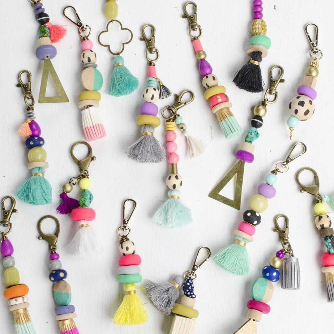 Stayed Up Late Last Night Making Lots Of Keychains.