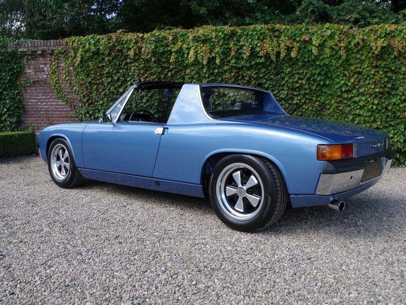 vente voiture ancienne de collection porsche 914 9146 in fully restored condition - Porsche Ancienne
