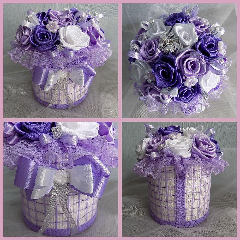 Коробочка с розами, фото в деталях | Diaper cake, Cake, Diaper