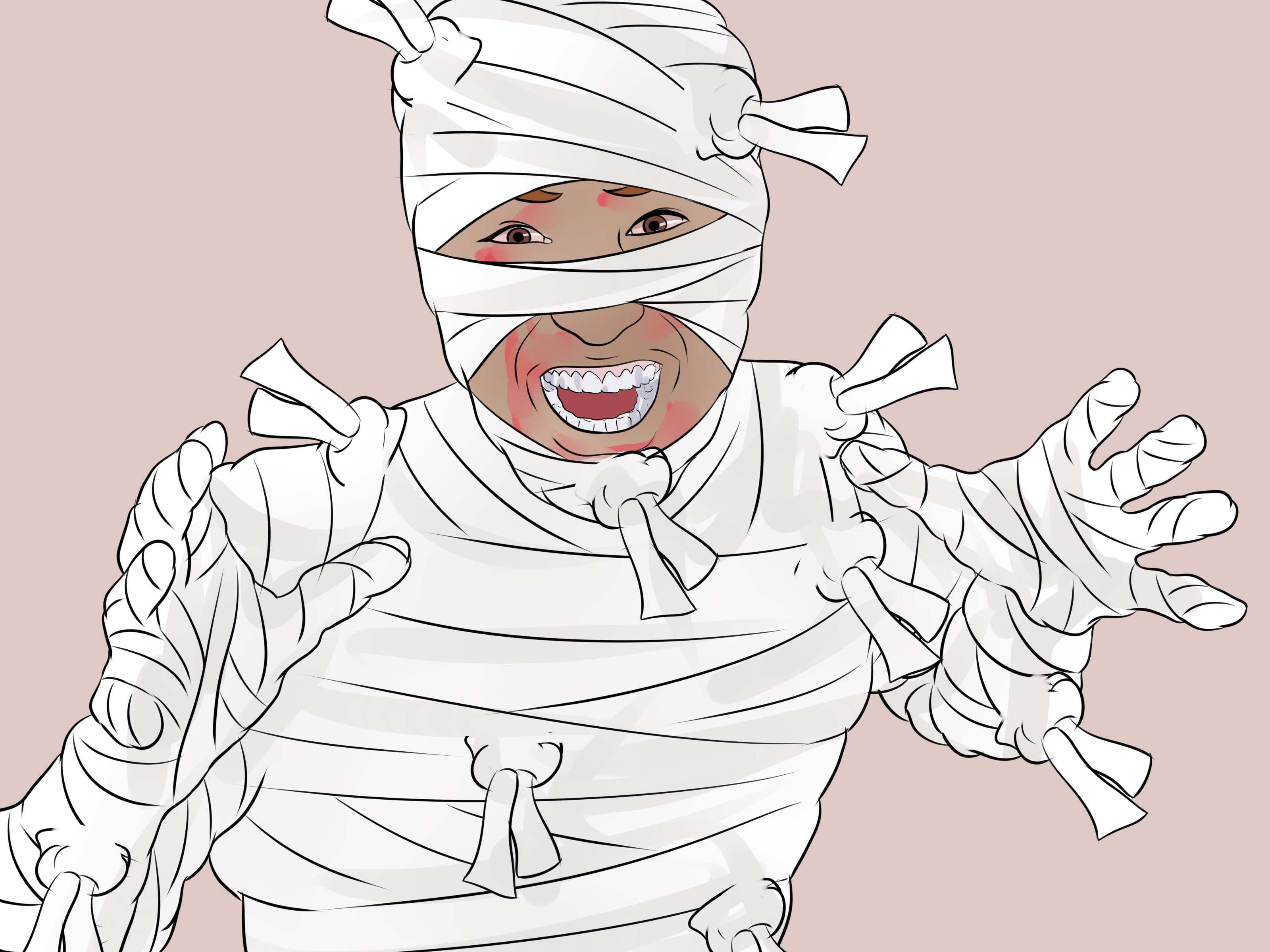 Make A Mummy Costume