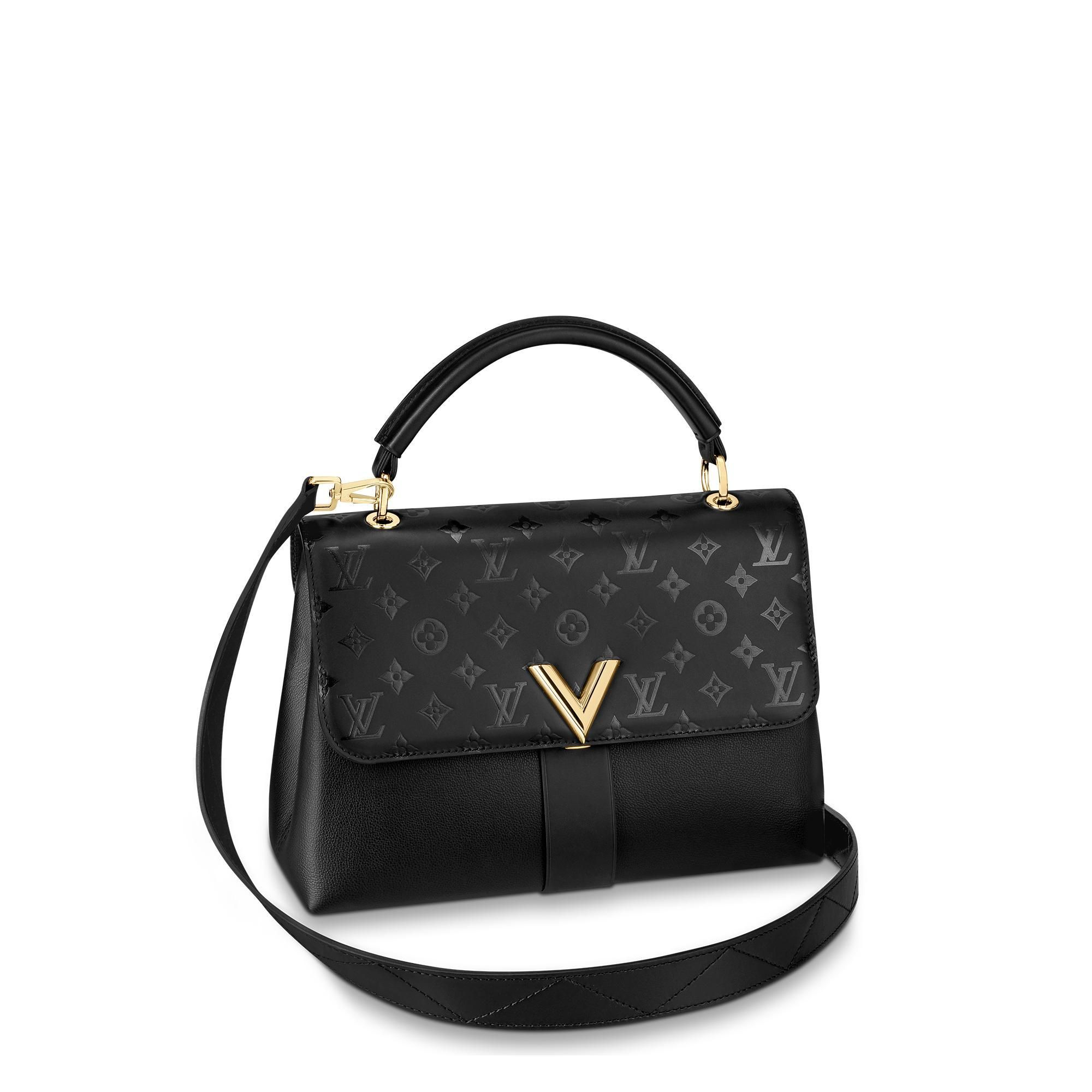Louis Vuitton Very One Handle Louisvuitton Bags Shoulder Hand Leather