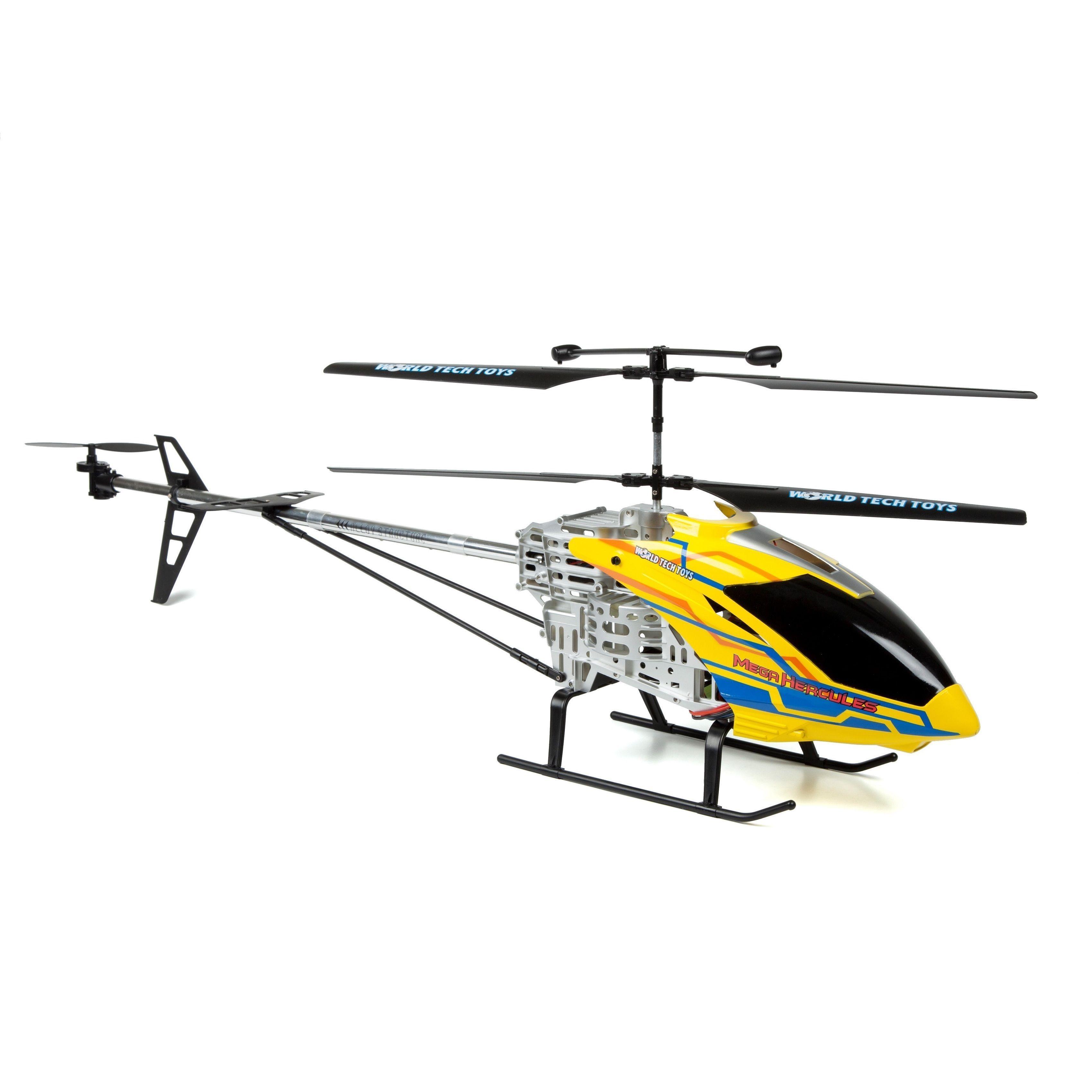 World Tech Mega Hercules Super Tuff Rc Helicopter Yellow