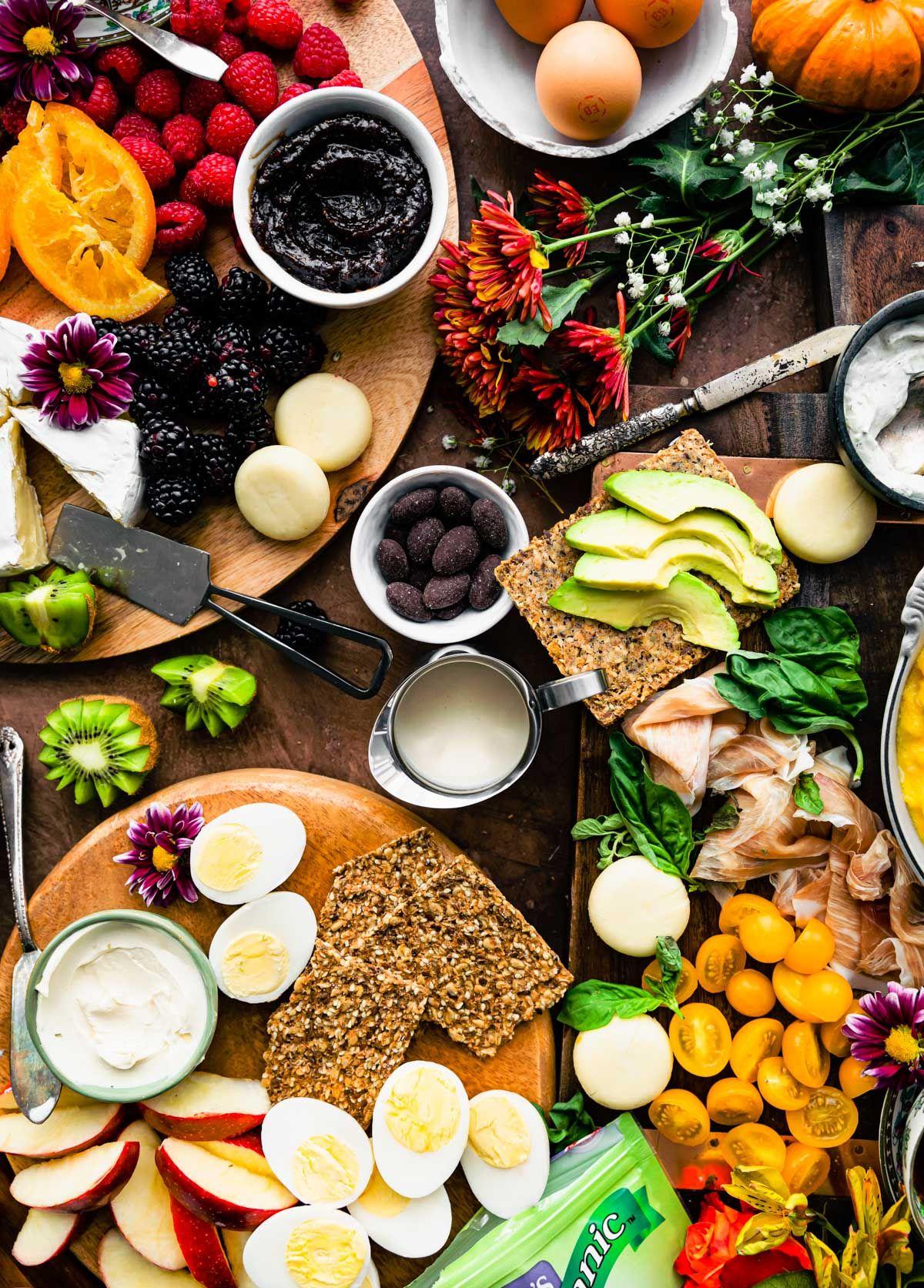 4 Healthy Charcuterie Board Ideas For Brunch