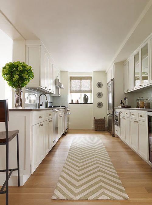 Decoración de cocinas alargadas | Decoración de cocina, Cocinas y ...