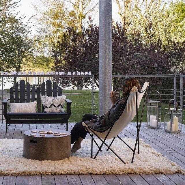 Fauteuil de jardin lafuma pure laine fauteuils et si ge for Siege longue jardin