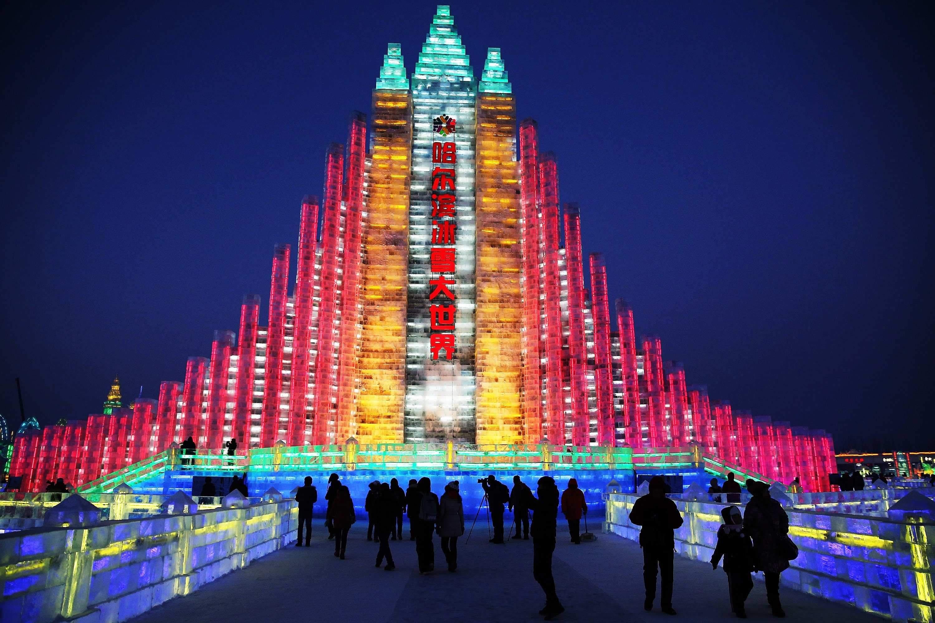 Harbin International Ice And Snow Sculpture Festival In China Brings Winter Wonderland To Life